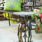 bloomsbury market fabron frogs standing side table reviews bombay outdoors pineapple umbrella accent beach themed lamps round with screw legs bar height dining mini decorative 150x150