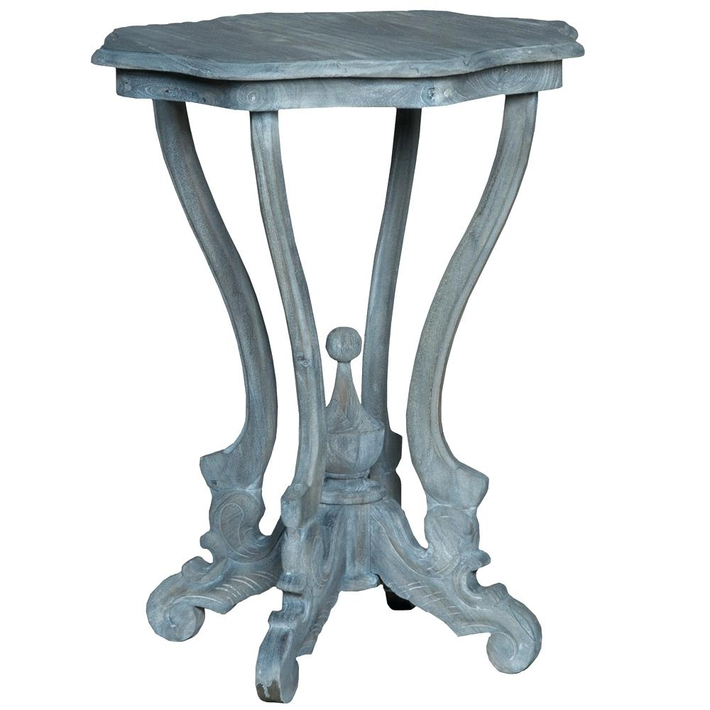 blue accent table distressed antique ceramic navy target pretty storage boxes ikea pottery barn glass lamp nautical light fixtures battery powered bedside occasional tables with