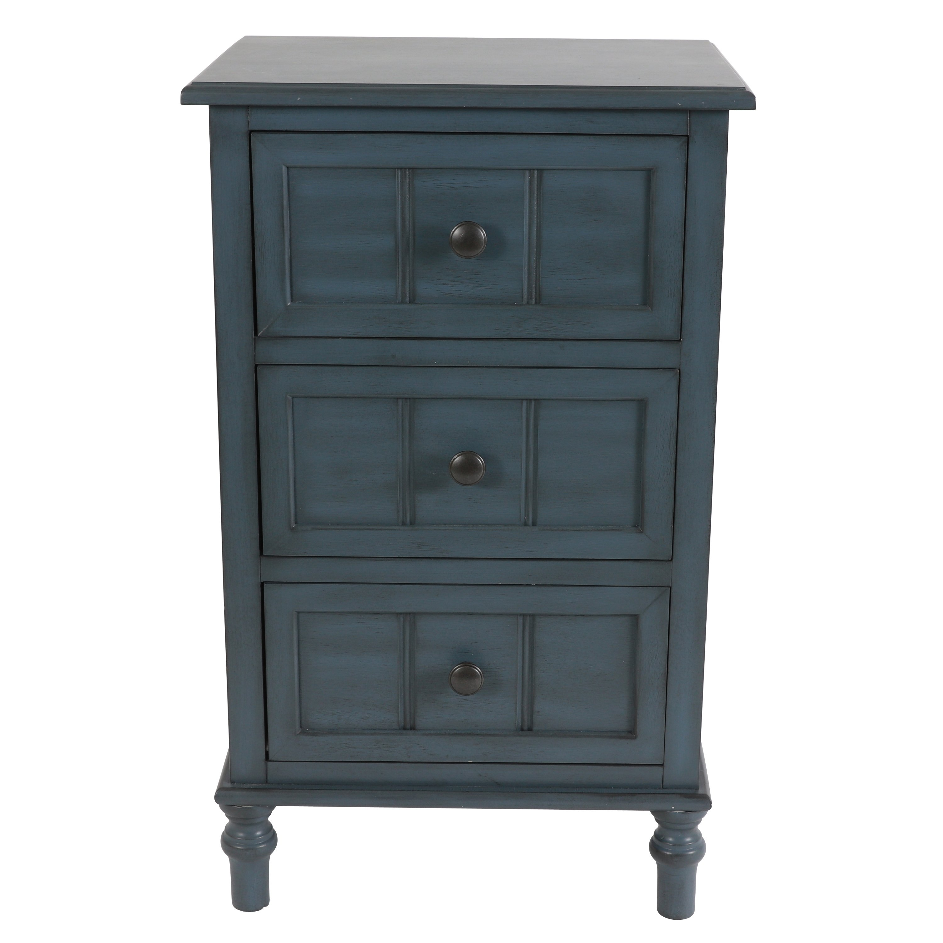 blue bedroom furniture ends day find great simplify three drawer accent table don mirrored clear ping ethan allen beds nautical cast aluminum patio end tables wall straps pottery