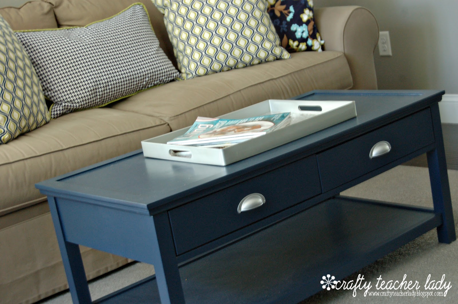 blue coffee navy table living rooms ture catchy teal end distressed accent sets ikea slim console with shelves pottery barn metal dark grey tables furniture pune victorian lamps