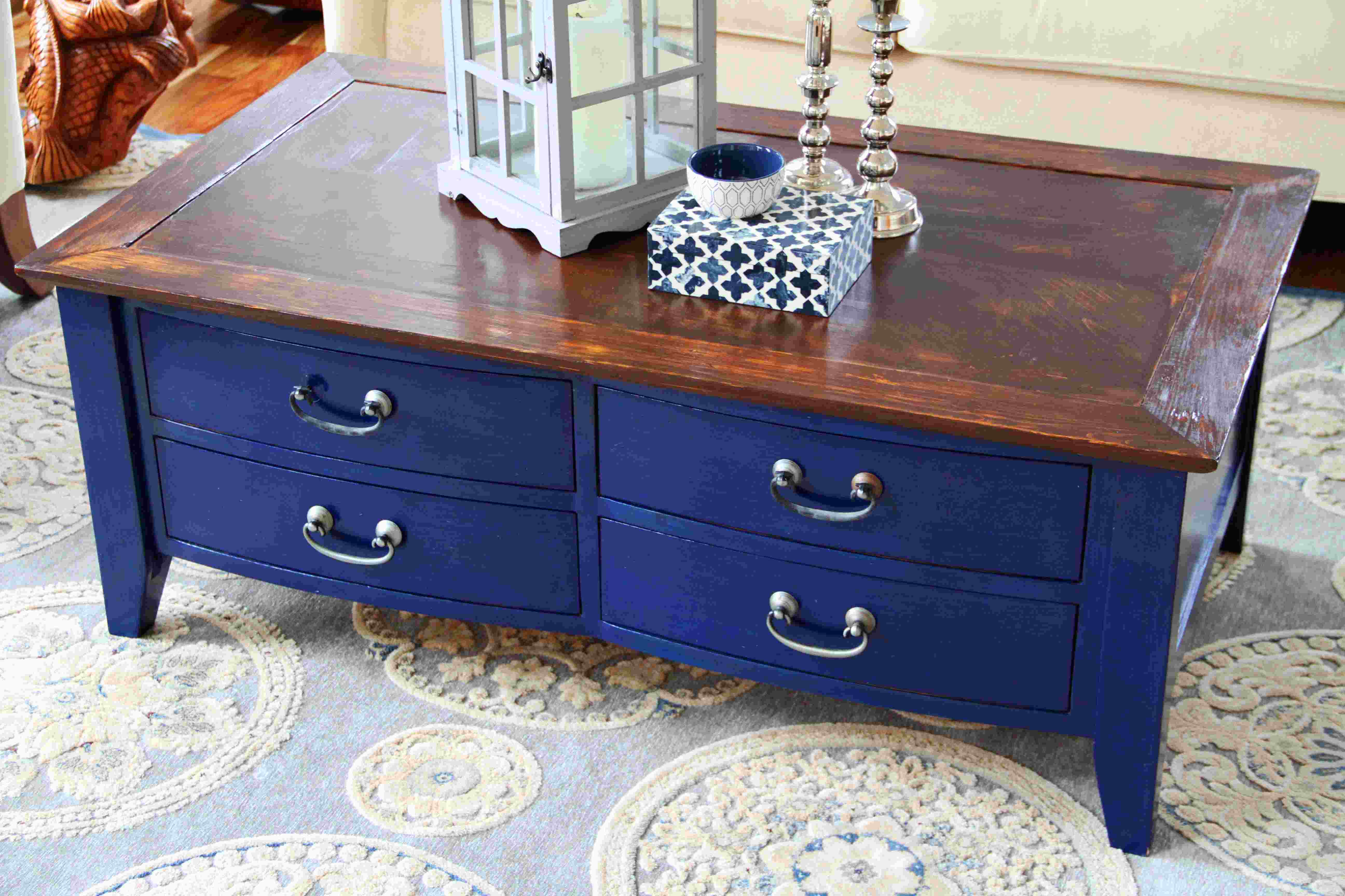 blue coffee table accent navy ott white ikea side farmhouse plans modern baroque west elm industrial lucite wood drum home decor art leick recliner wedge end cherry dining room