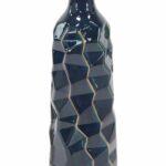 blue large vases you love renick modern faceted bud table vase ceramic accent sheesham bedside martha stewart outdoor furniture farm style end tables target bar wood pedestal 150x150