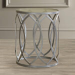 boho end table kehl metal eyelet accent keter ice unique small side tables hammary red decor drum kit stool average coffee height kitchen dining room black glass and chrome large 150x150