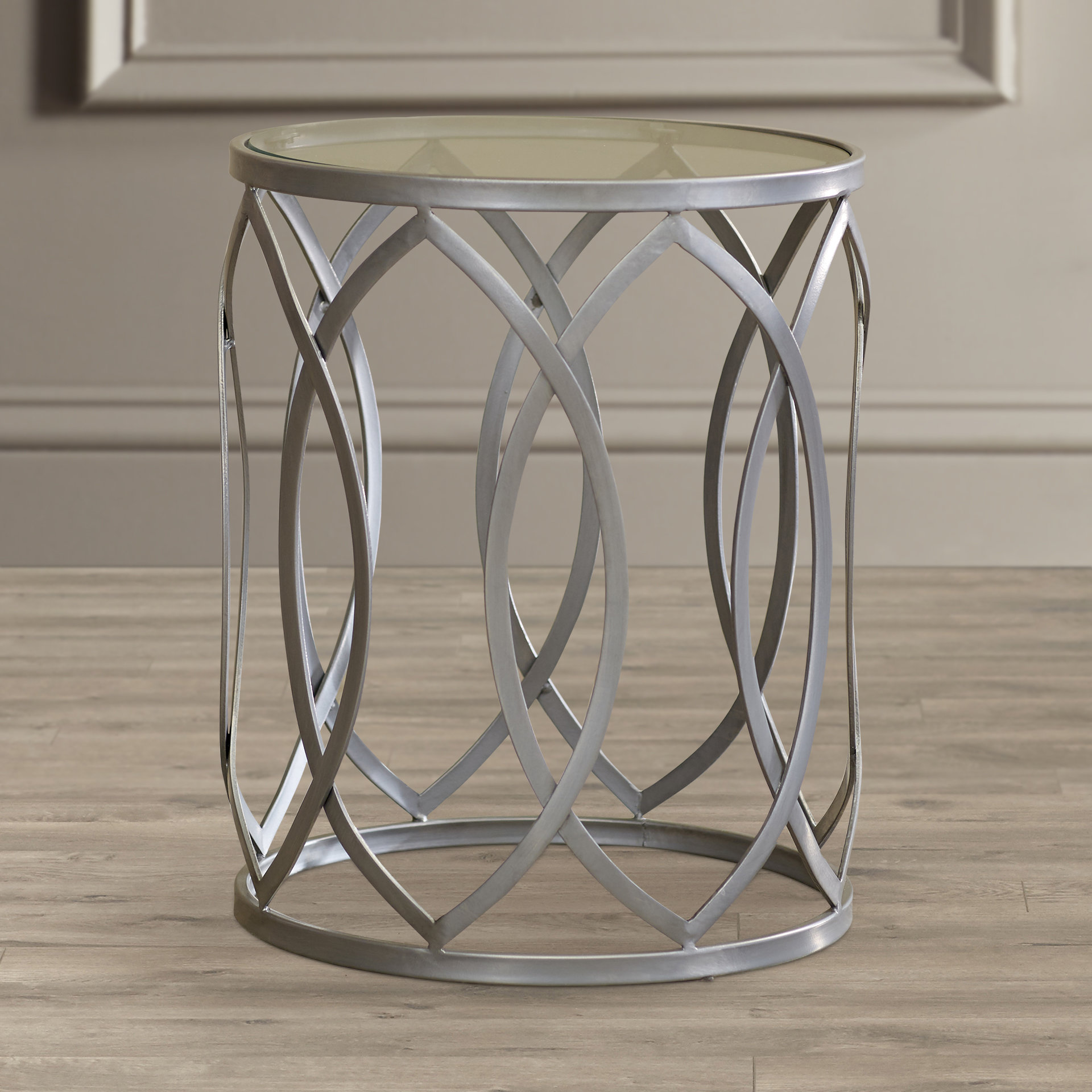 boho end table kehl metal eyelet accent keter ice unique small side tables hammary red decor drum kit stool average coffee height kitchen dining room black glass and chrome large