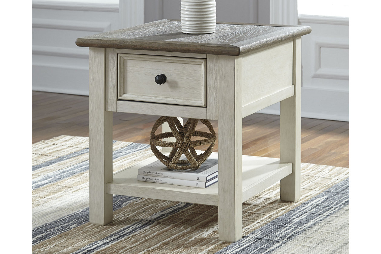 bolanburg end table ashley furniture home crop small accent drink tables long skinny semi circle side narrow patio foot console pier one chairs unique foyer beach house lamps