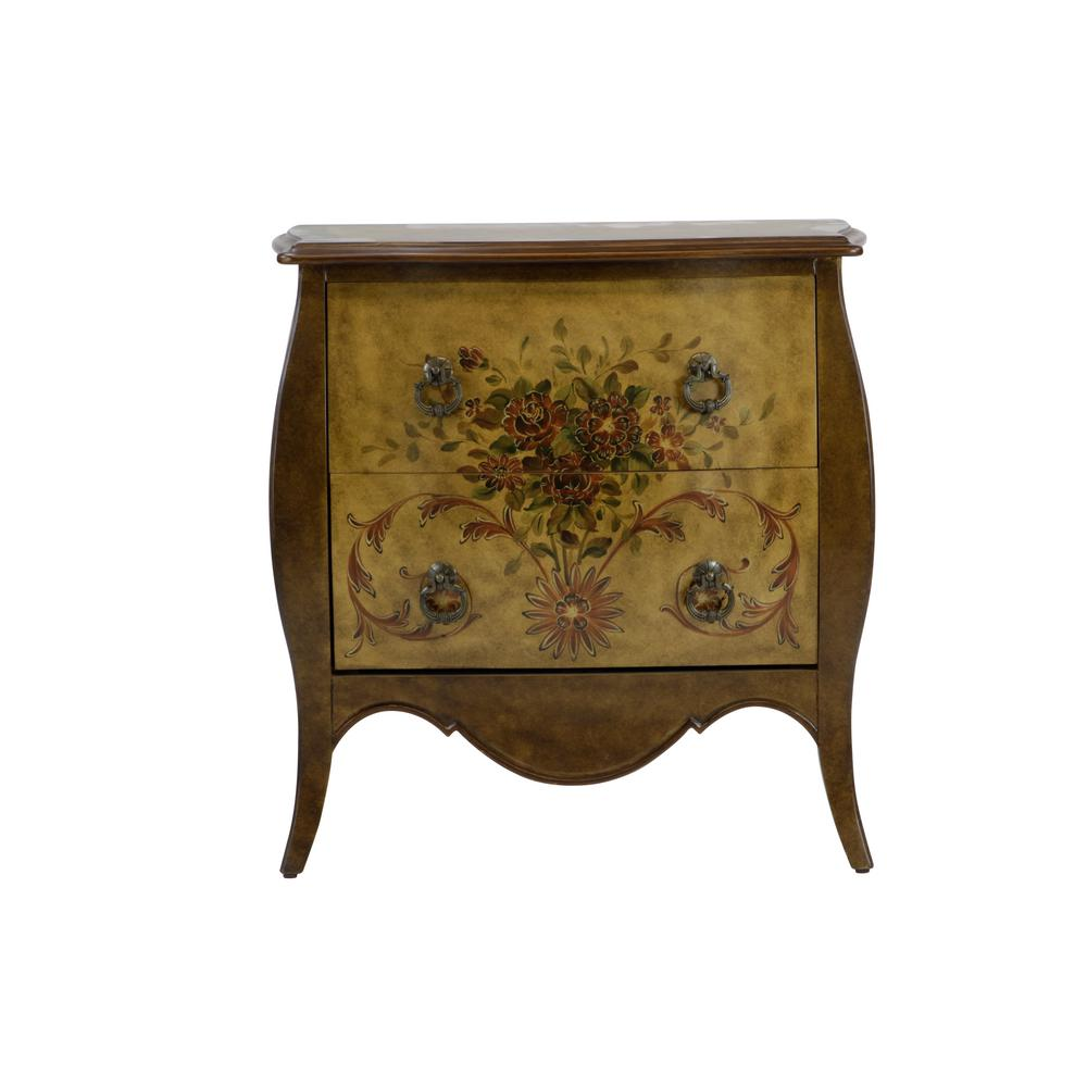 bombay drawer natural accent chest dws the handpainted entryway benches trunks painted tables chests garden bistro table and chairs counter height round pub target hexagon