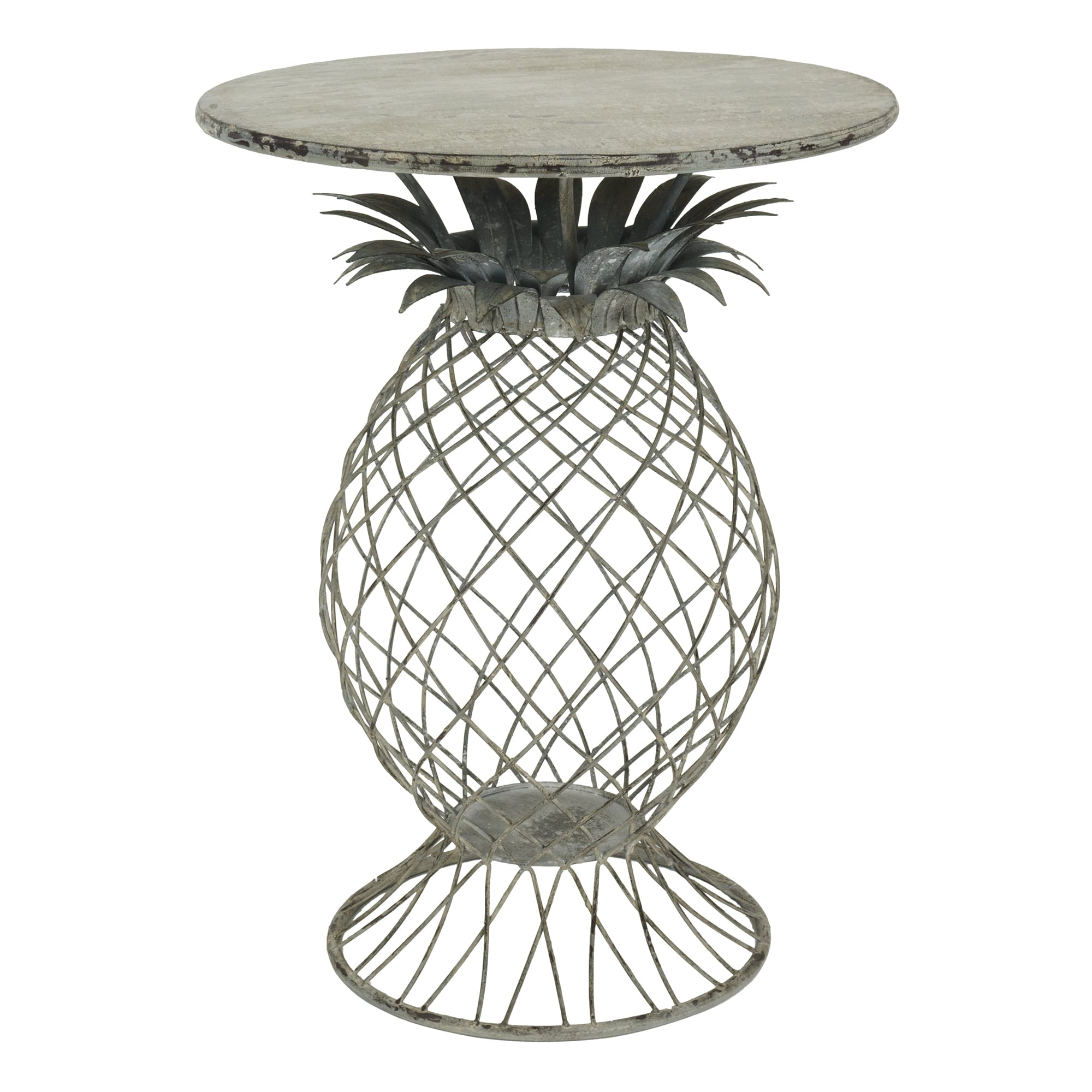 bombay outdoors kailua pineapple table free shipping today umbrella accent hallway lamp beach themed lamps red runner and placemats dark marble brown rattan coffee wyatt furniture