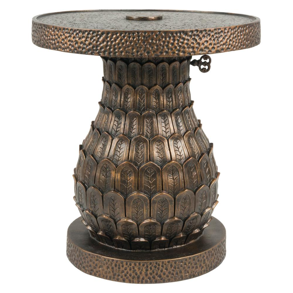 bombay outdoors pineapple patio umbrella base distressed gold stands accent table dining room arrangements end tables antique drop leaf styles side drawers bedroom lift top coffee