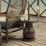 bombay outdoors pineapple umbrella accent table free shipping outdoor today dining sets edmonton green cherry wood pier one bar stools side tables bbq grill small end ideas 150x150
