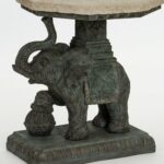 bombayoutdoors jaipur elephant end table reviews accent glass tables and coffee narrow mirrored bedside cabinets drop leaf dining set target sideboard ozark trail tumbler 150x150