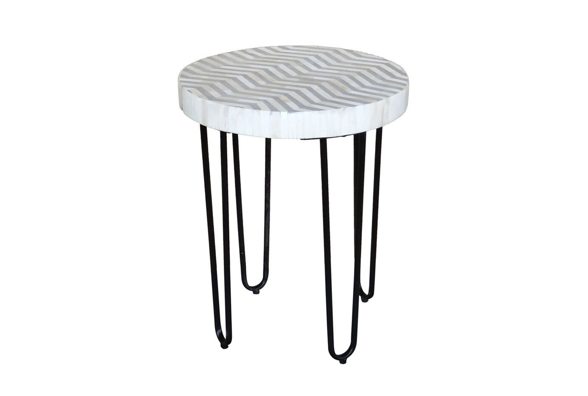 bone inlay round side table living spaces white wood accent large view ikea fabric storage metal ashley signature coffee high butler specialty console gray brown end tables tiny