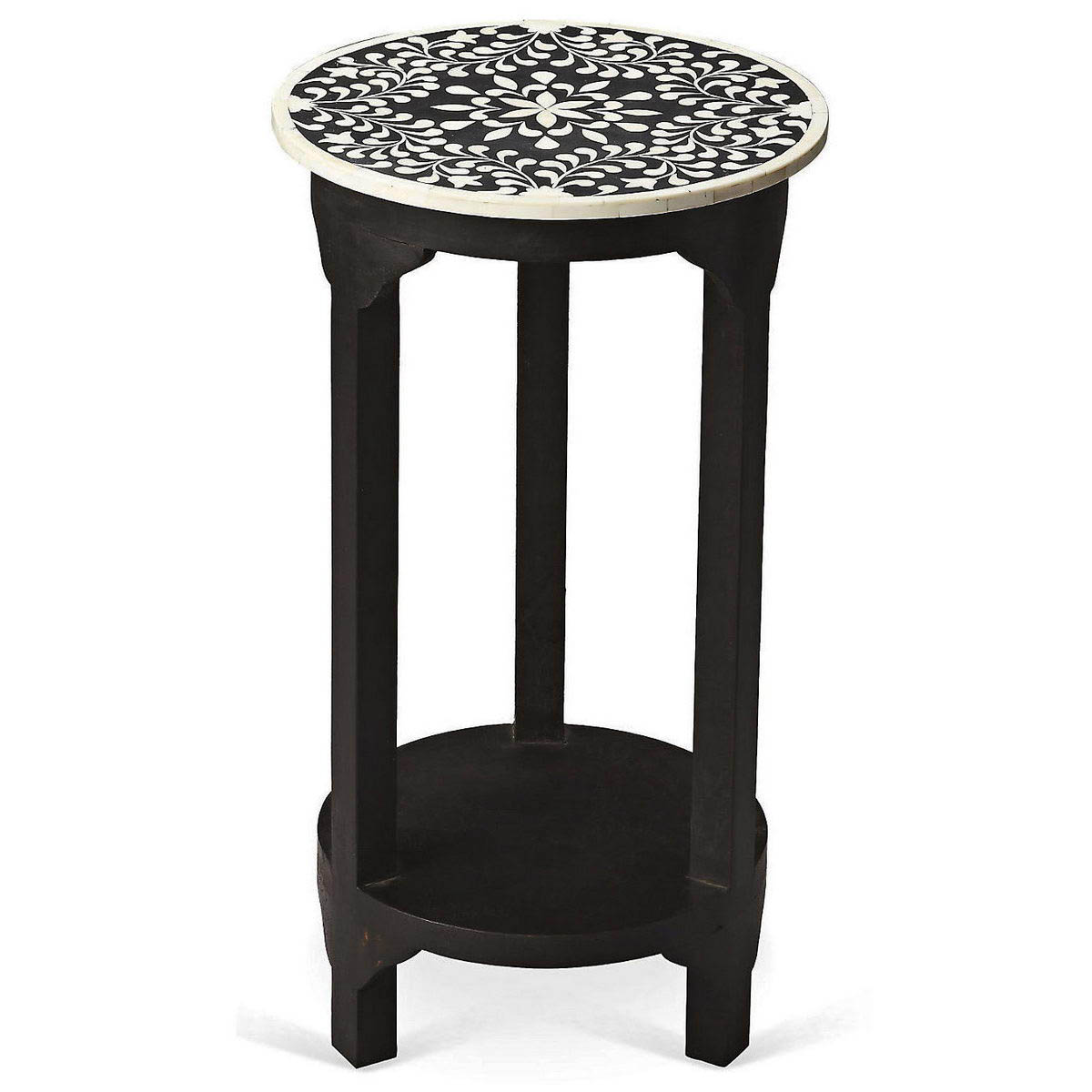 bone inlay side table vae variety arts emporium wood accent prev living room cabinets with glass doors jcpenney sofa under couch gray brown end tables mirrored drawer small