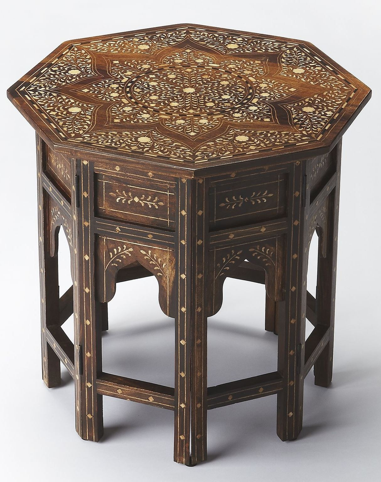 bone inlay wood accent table from butler cute side tables grey rattan cool bar gold home accessories inch round tablecloth silver sparkle lamp pub and bistro sets entryway dresser
