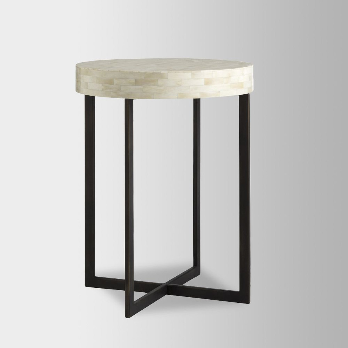 bone side table west elm media accent black bedside lighting seattle jcpenny bedding dale tiffany hummingbird lamp jcpenney kitchen curtains ceramic ginger jar lamps half wall