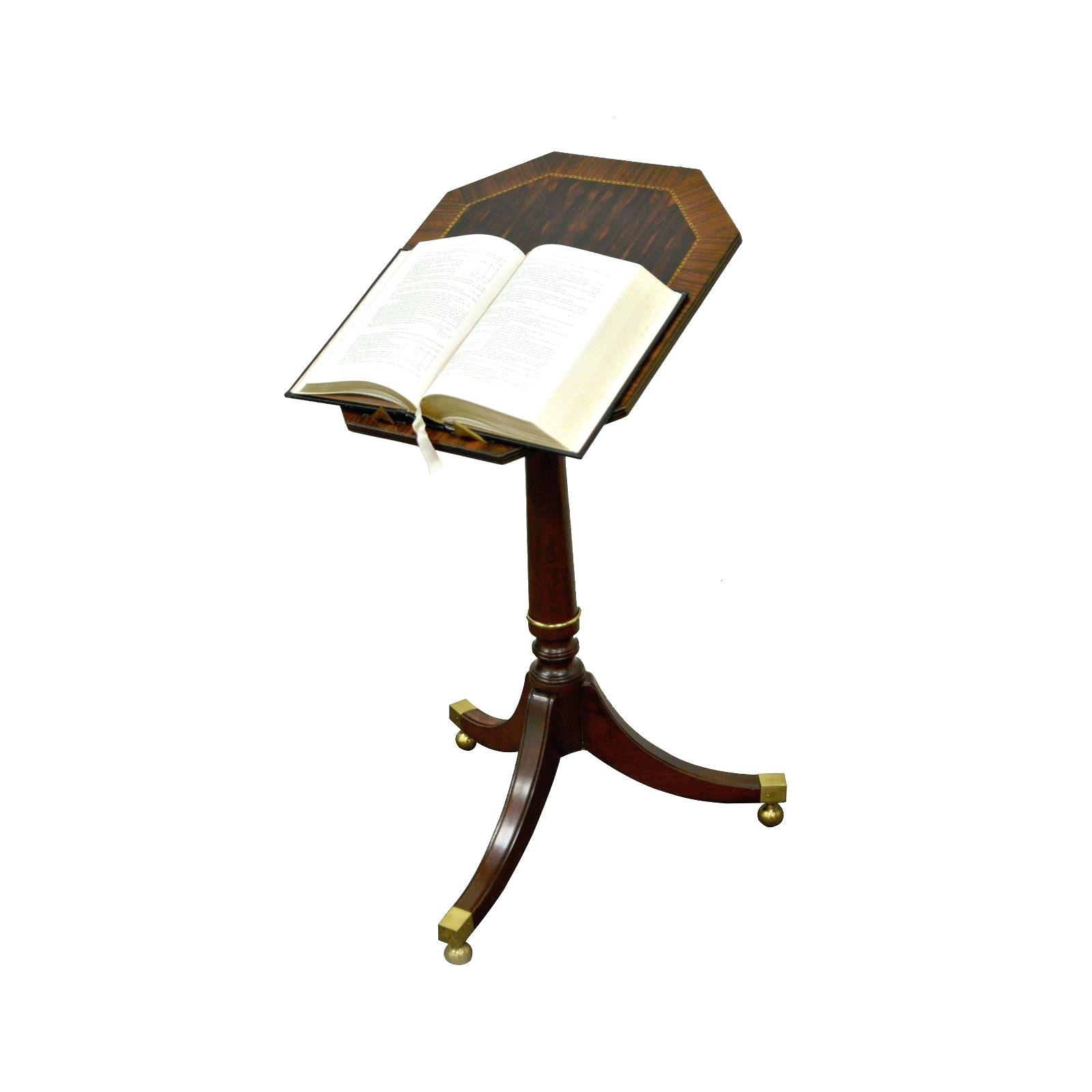 book accent table looknook vintage baker furniture tilt top stand item features beautiful mahogany black lacquer console green tiffany lamp shade home interiors catalog behind