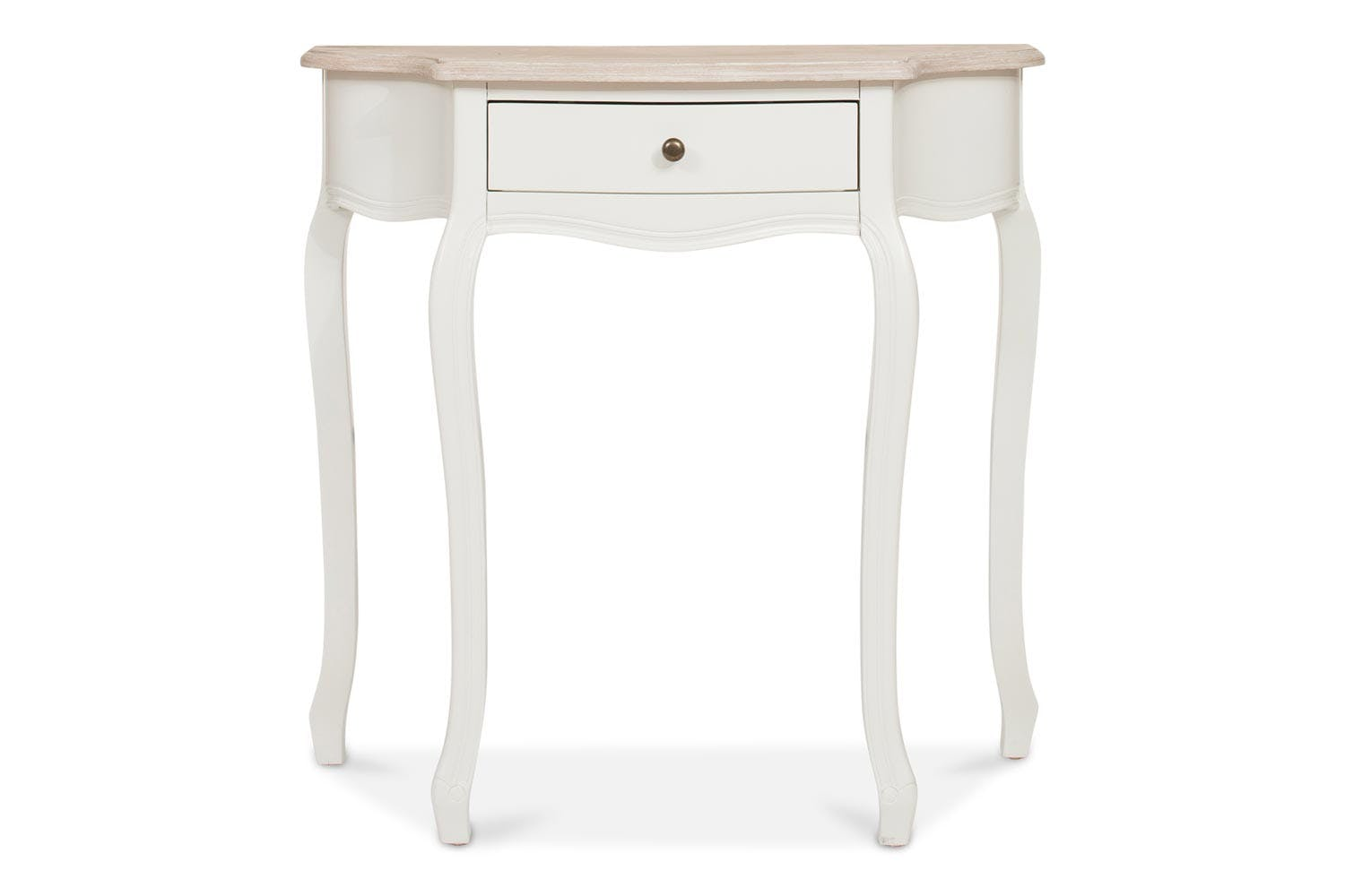 bouvard half moon console table small accent big lots computer desk hooker end tables ethan allen furniture media storage white and glass side pottery barn decorating ideas