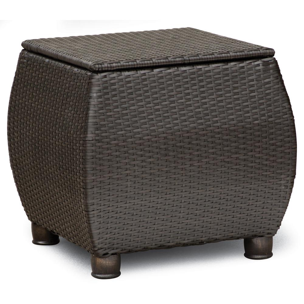 boy breckenridge square wicker outdoor side table hbre the tables hairpin furniture legs large covers accent for small spaces designer lighting brands home office desk quilt