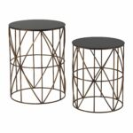 bradfield set drum side tables home gold accent table ashley furniture large white round colorful outdoor metal umbrella base dining clearance walnut modern linens stacking bbq 150x150