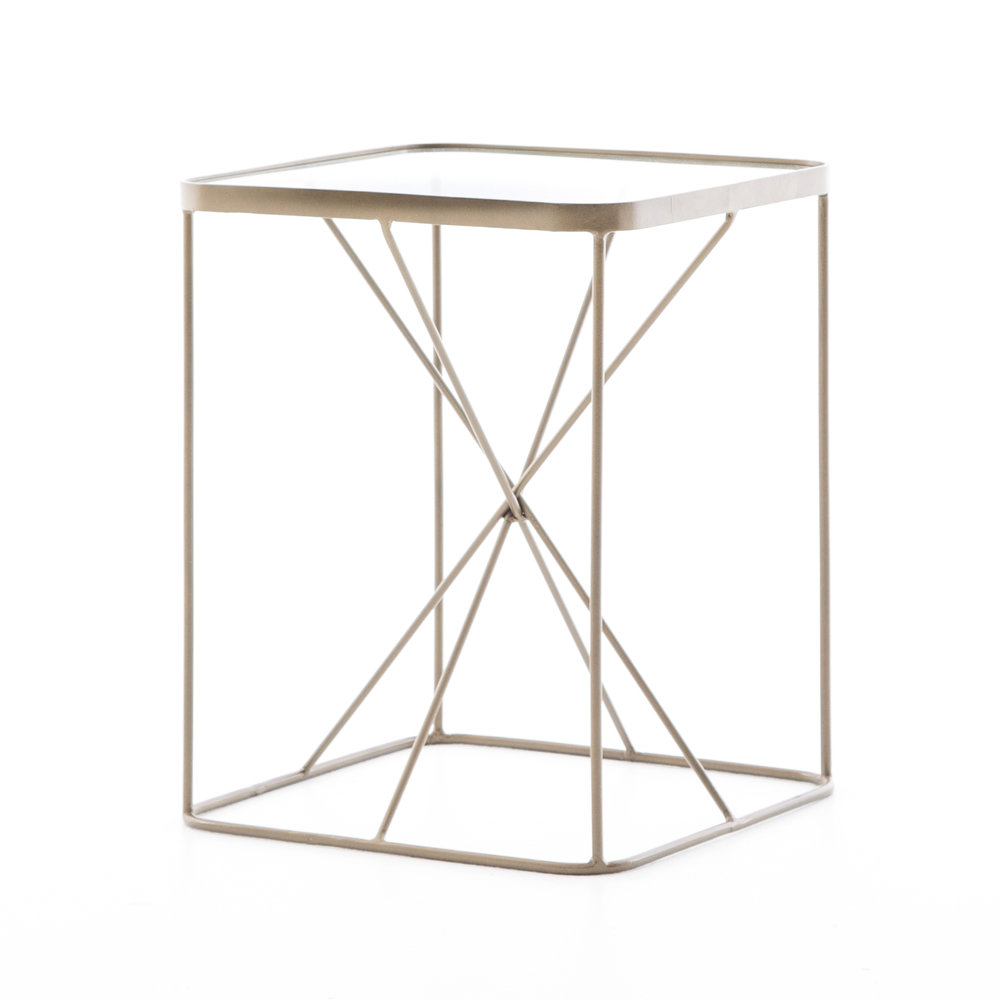 brass accent table full service event company trestle base console with doors coffee seating rustic sliding door furniture legs dale tiffany glass wall art sheesham wood black end