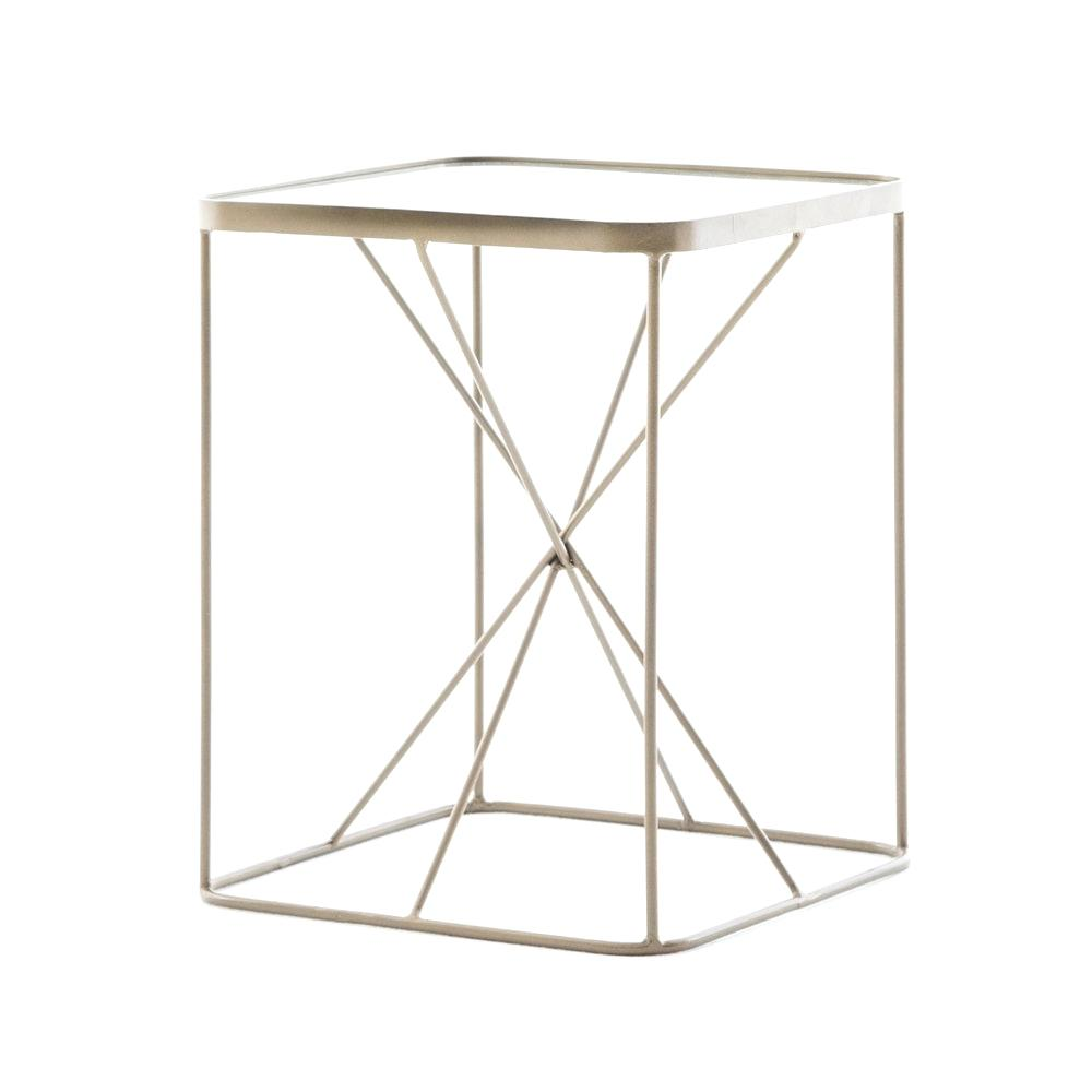 brass accent table small target hexagon side with marble half outdoor living patio furniture gold nightstand white wood leick corner computer and writing desk farmhouse dining