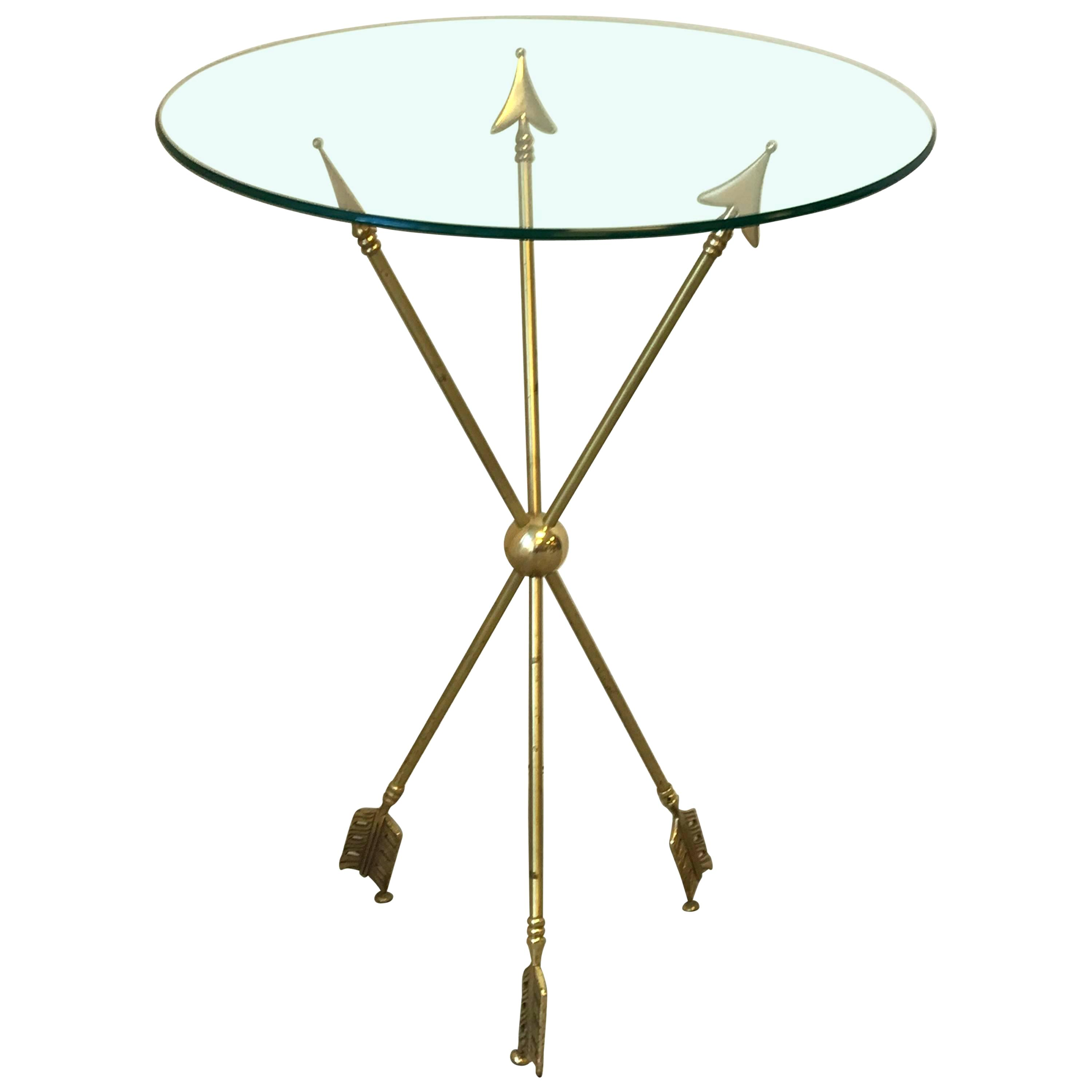brass accent table vinnymo arrow for threshold cage metal narrow coffee with storage blue and white porcelain lamps waterproof cover garden chairs buffet sideboard pink runner