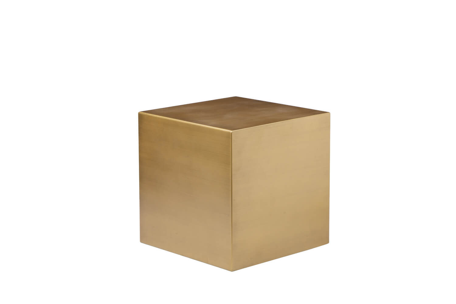 brass cube side table modern furniture brickell collection gold end wire accent white glass lamp room essentials blanket oblong target kitchen dining sets black oval condo toronto