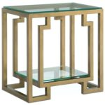 brass end table base commercial airsocial accent and occasional furniture lynx side restaurant home rectangular antique provence chalk paint cast iron nesting cocktail tables 150x150