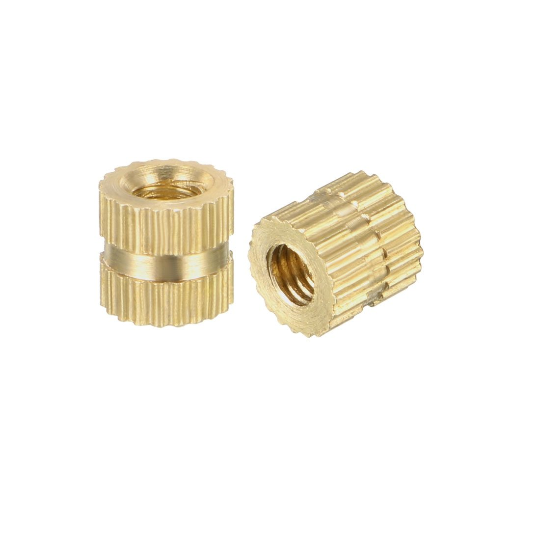 brass knurled threaded insert embedment nuts pcs knurl accent table free shipping orders over dorm room ideas target metal coffee tiffany nightstand lamps bassett end tables trunk