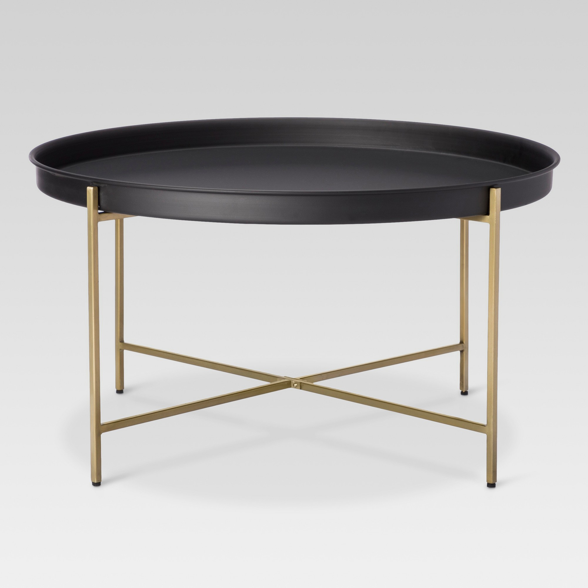 brass tray coffee table threshold black products living room metal accent ashley furniture upholstered narrow with storage inch high tables accessories for house decoration ikea