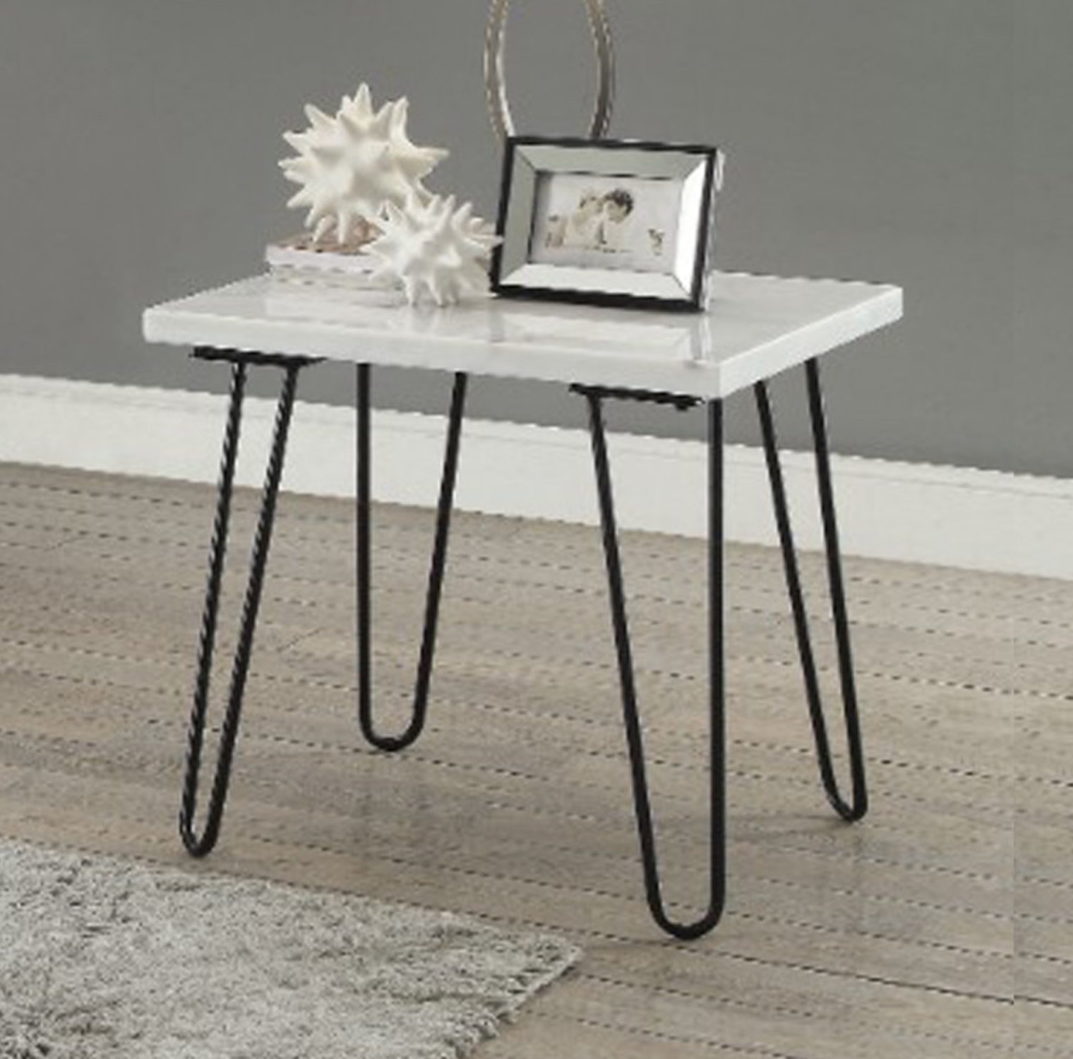 brayden studio neihart black marble top end table with metal hairpin style legs gold room essentials accent easy christmas runner patterns free outdoor small side pottery barn