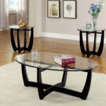 breathtaking coffee table sets glass ideas wallercountyelections create stylish contemporary environment with this unusual three piece accent set the eccentric angular legs 150x150