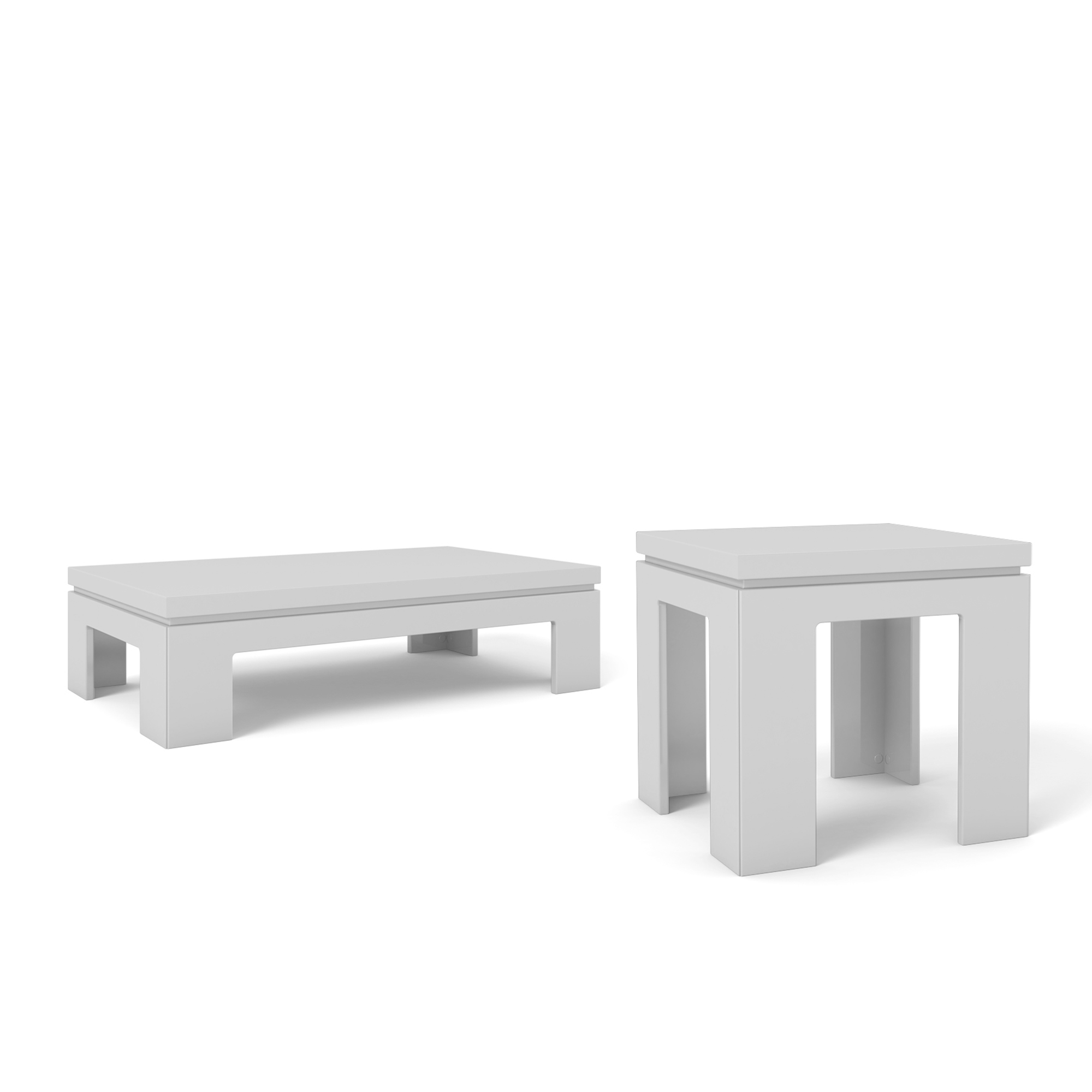 bridge white gloss piece accent table living room set manhattan tables comfort inch deep console leick furniture mission deck coffee with shelves and drawers storage wrought iron