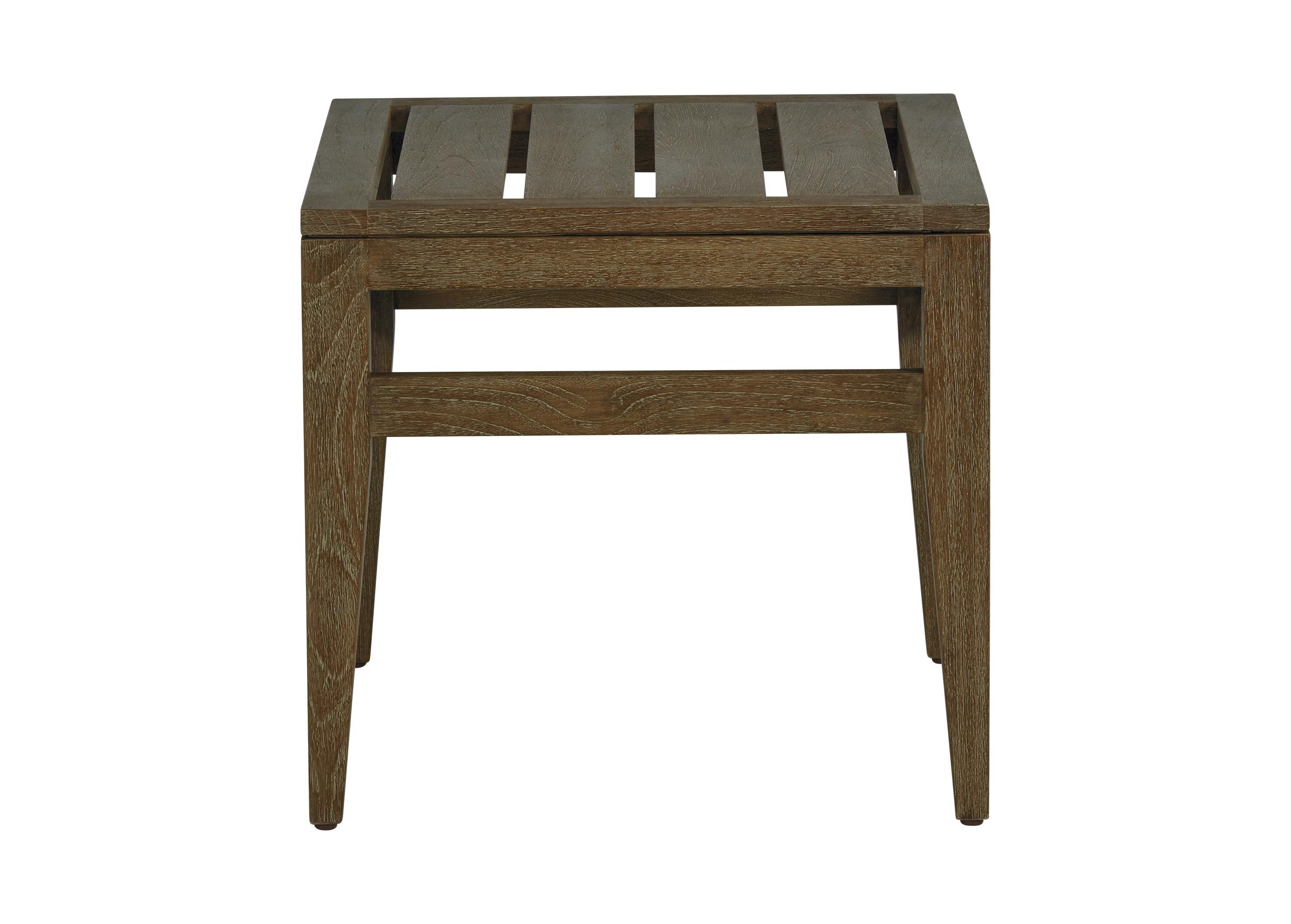 bridgewater cove teak wood outdoor side table ethan allen accent previous inside barn doors corner cabinet living room space saver inexpensive tables pulaski furniture sheesham