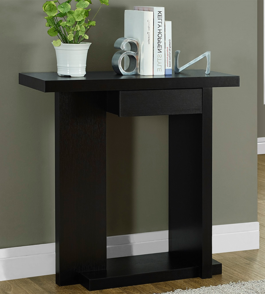 brilliant hallway accent table with black console devon lovable tables lacquer yellow modern wooden coffee designs kidney bean retro ideas storage chest knotty pine end dale