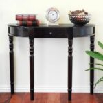 brilliant small entry table ideas simple single drawer half moon round accent for foyer west elm night tables white metal garden furniture barnwood coffee plans brass drum pottery 150x150