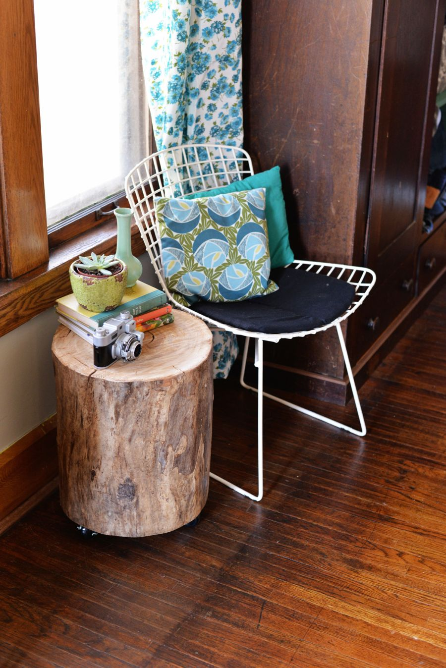 bring raw beauty into your home with tree trunk tables how make stump side table accent tall counter ashley furniture piece set oriental lamp shade metal frame coffee wood top