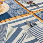 bring the mediterranean your table boutique ricardo lookbook accent placemat santorini charming cafes and tic trattorias venice you set with accents combining warmth elegance 150x150
