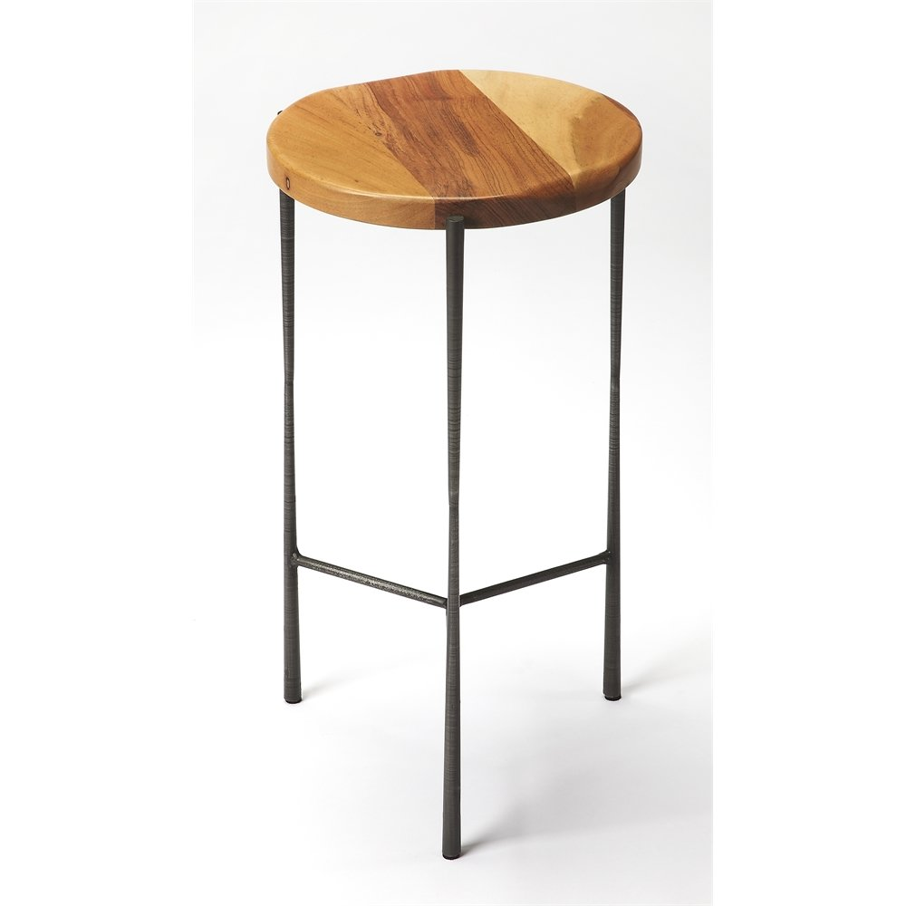brisbane live edge accent table industrial chic jcpenney bar stools concrete side inch round plastic tablecloths indoor plant buffet lamp shades oval with drawer metal drawers