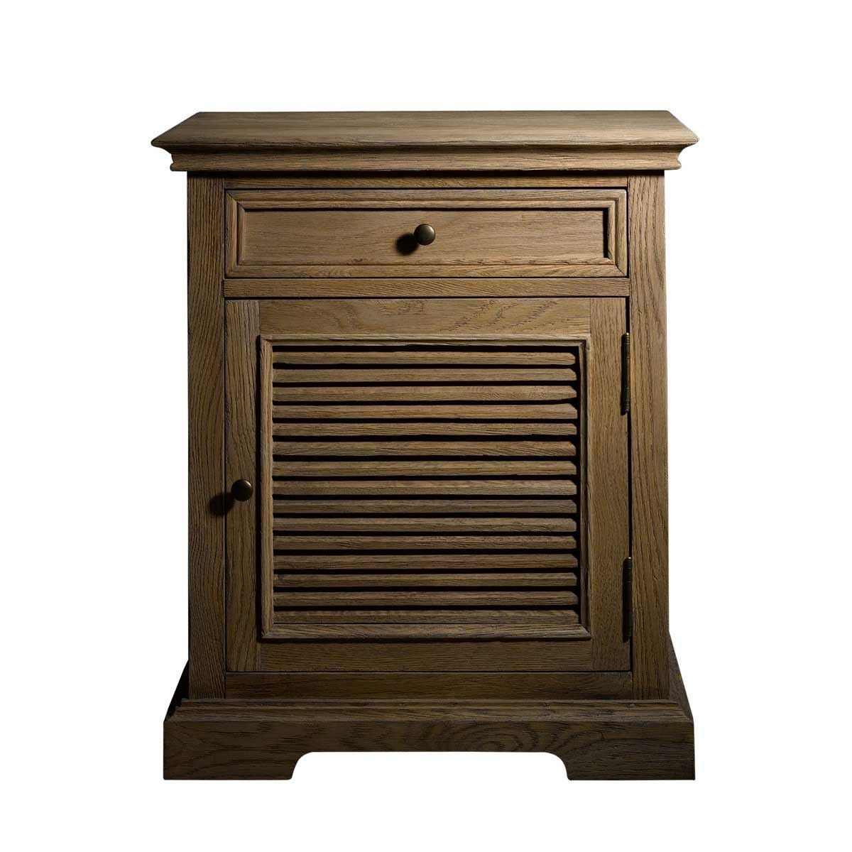 britania shutter accent table drawers shelves and doors with framed door produced weathered oak fixed shelf tablesshuttersdrawershelfcabinets ceiling curtain rod tray buffet