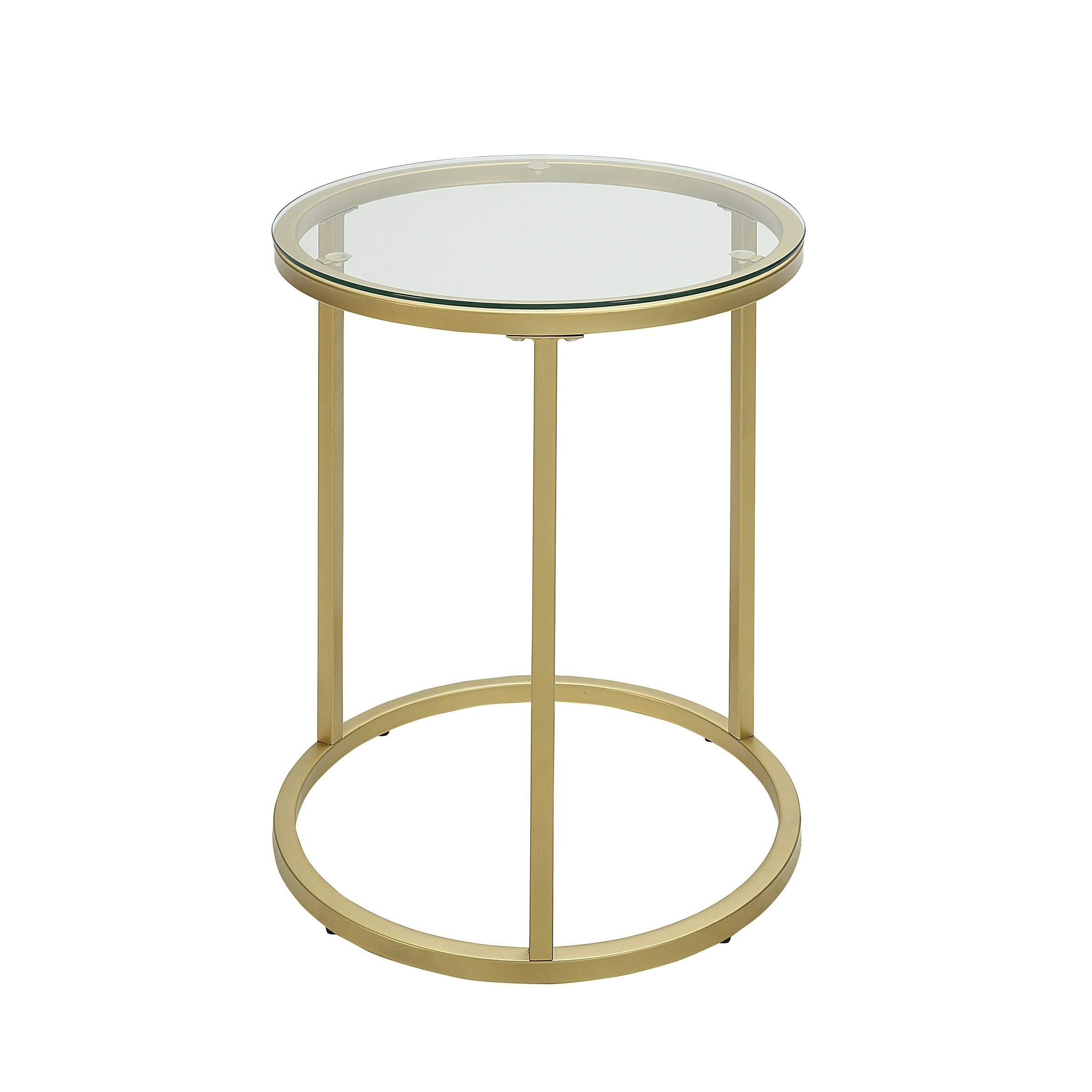 britta inch round glass top gold accent table with free shipping today small silver side reclaimed wood end modern furniture houston perspex nest tables solid drawer pink metal