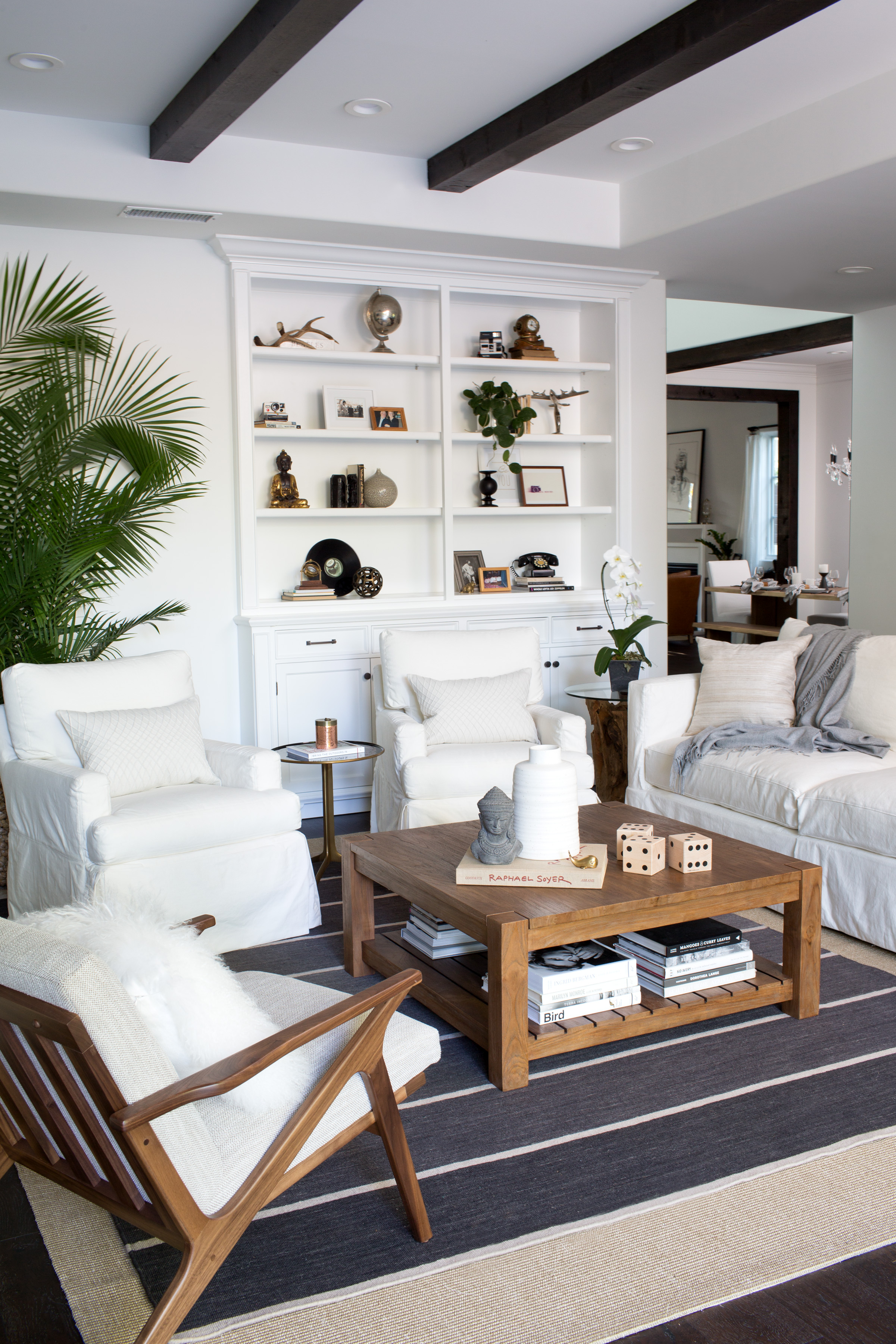 brittany snow redecorates her los angeles home people crate and barrel marilyn accent table courtesy scott clark for elephant chair target stools benches gallerie art round
