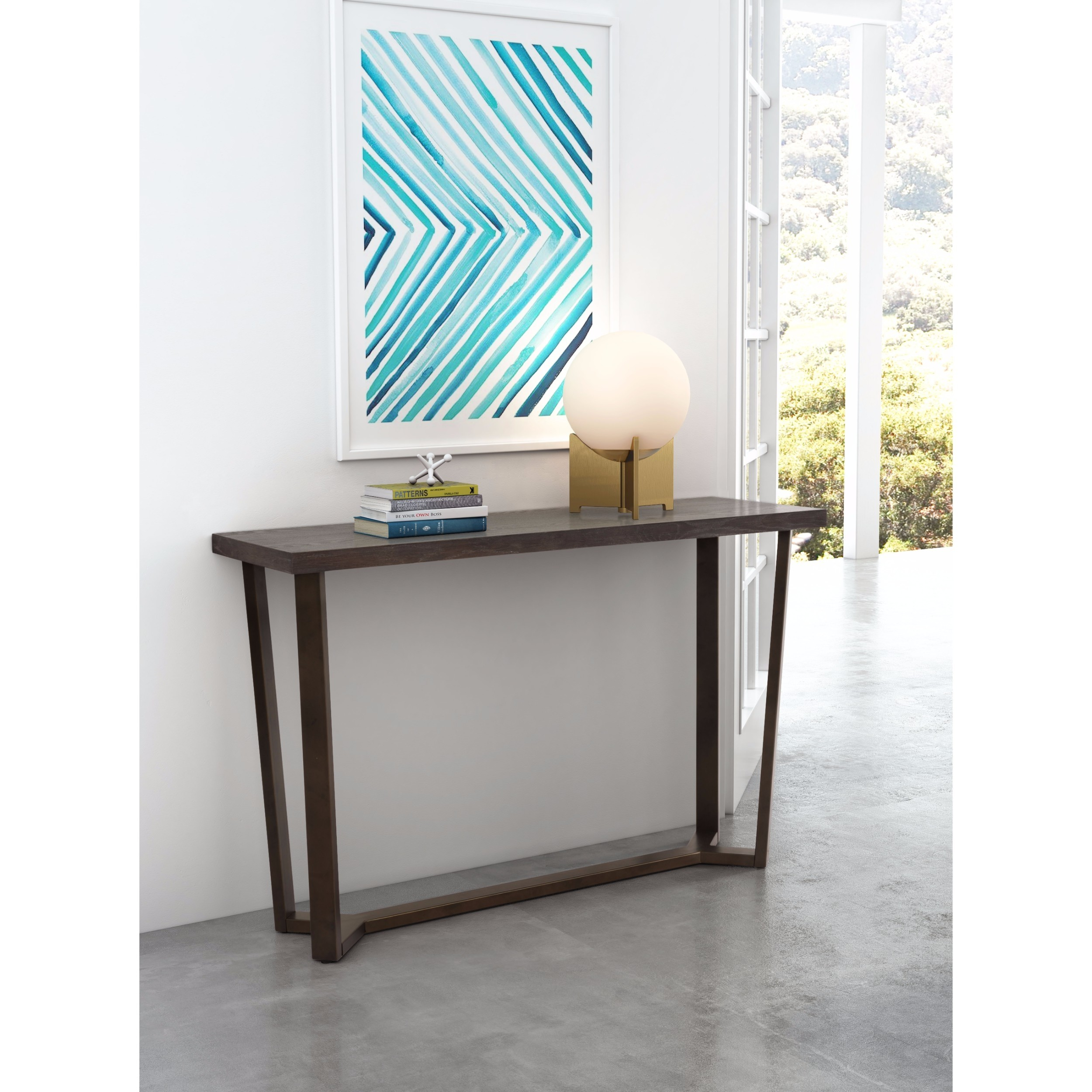brooklyn console table lifestyle accent furniture tables diy counter height barn door room divider living chest drawers glass top small adirondack chairs target chaise lounge