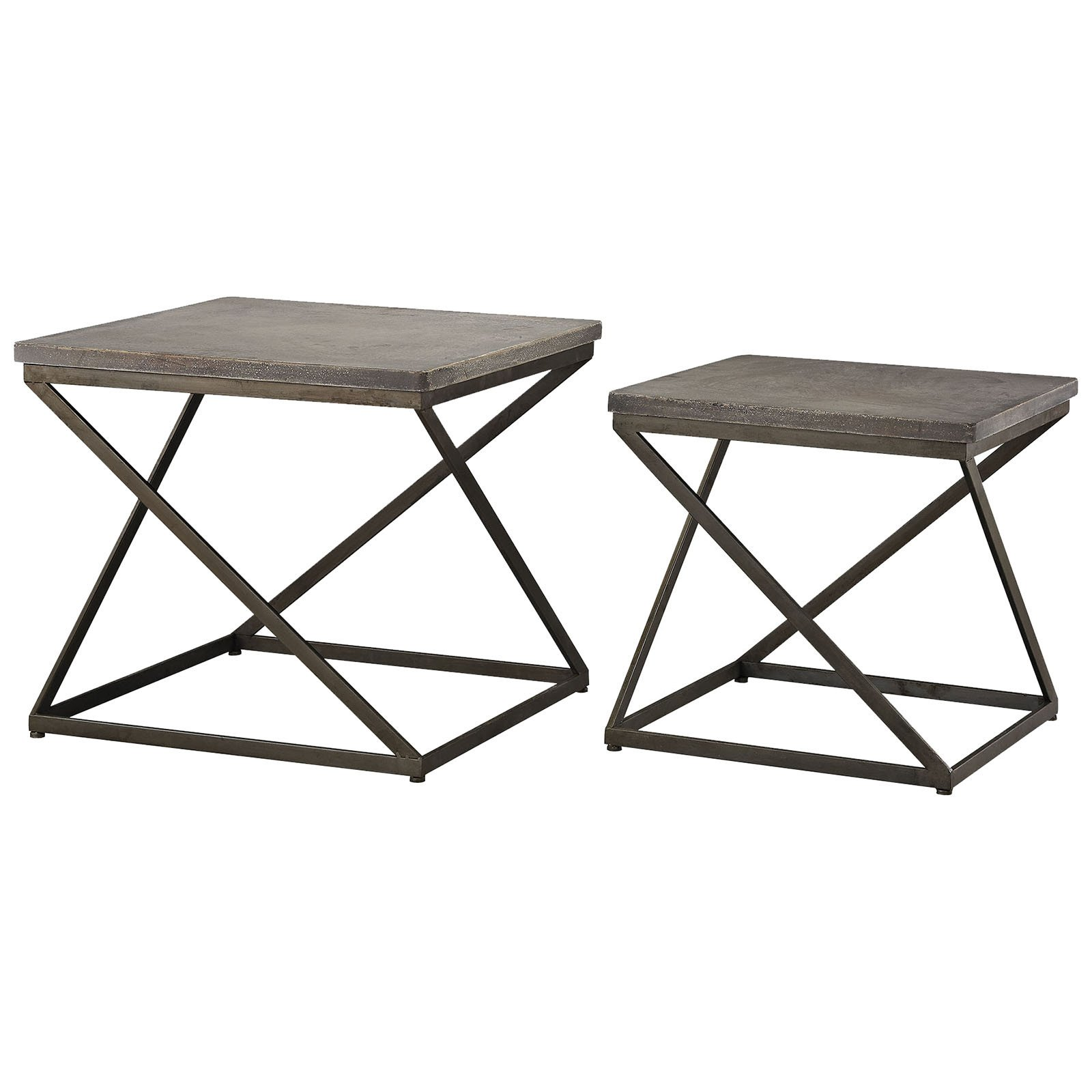 brown accent tables contemporary metal outdoor concrete table moya aged iron and set baroque furniture colorful coffee round kitchen tablecloths lounge room soccer game quilt