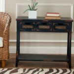 brown console table entryway tables furniture the distressed java safavieh monarch hall accent cappuccino storage drop leaf folding counter height dining room chairs acrylic chest 150x150