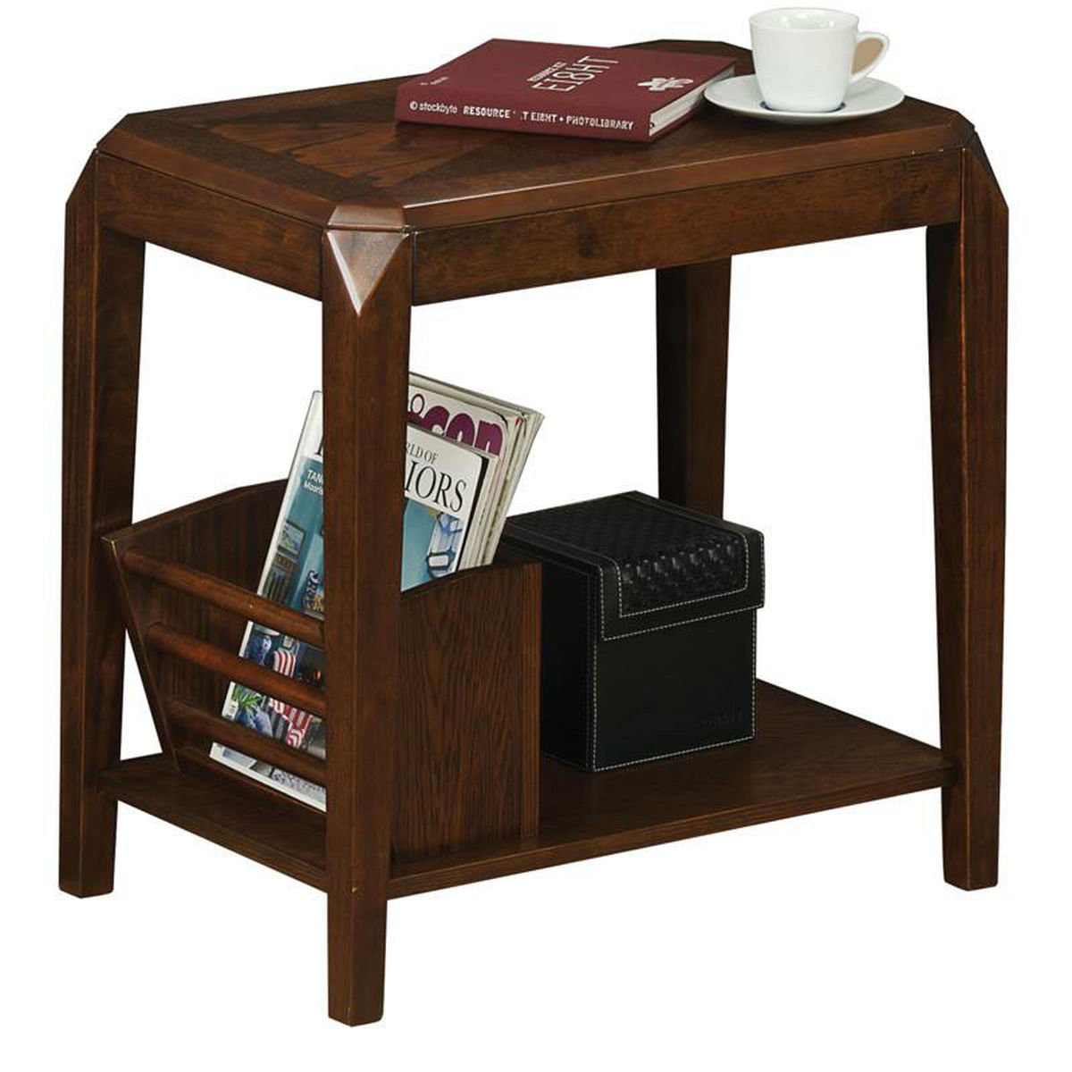brown oak accent table bizchair monarch specialties msp main our beveled corner with storage shelf now round mirrored side clear plastic tablecloth wine tray resin wicker glass