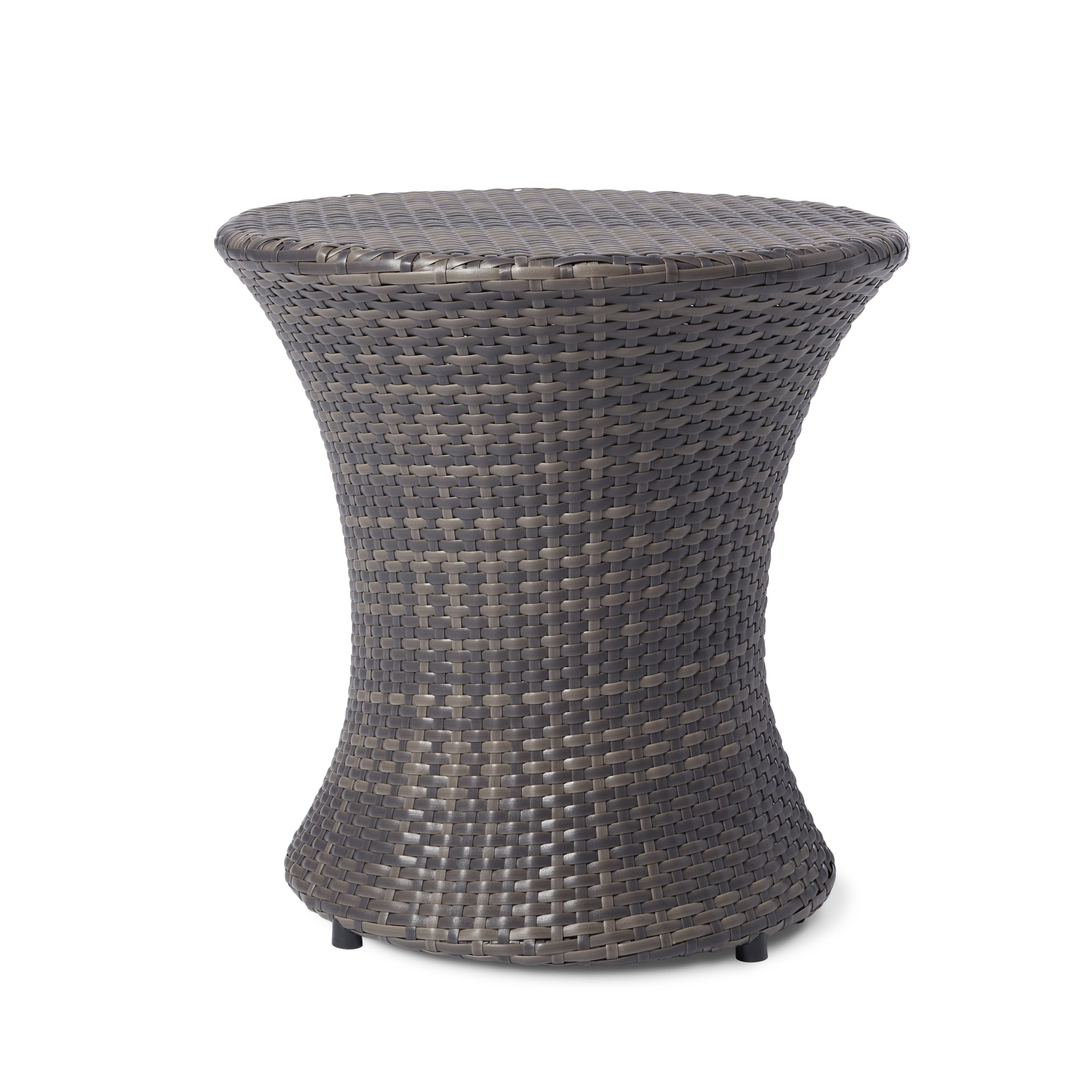 brown outdoor coffee side tables our adriana wicker table christopher knight home bombay outdoors pineapple umbrella accent best patio furniture beach themed lamps red runner and