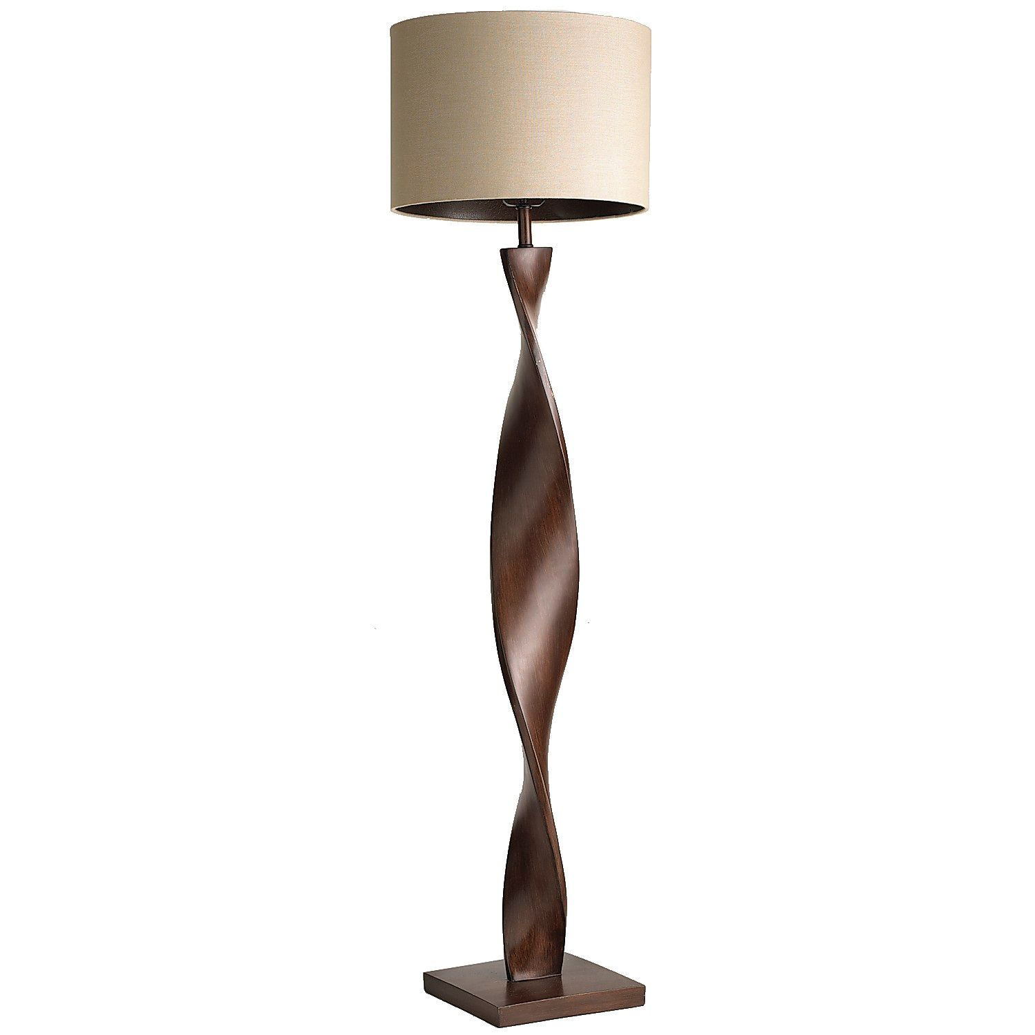 brown twist floor lamp pier imports one accent table lamps with hidden chairs outdoor wicker furniture cordless for living room garden umbrella ikea small square drop leaf folding