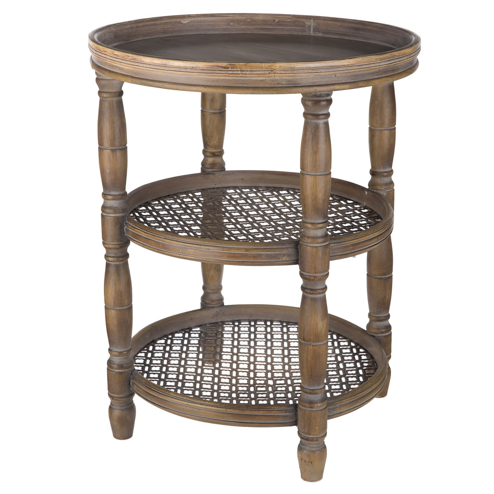 brown wood metal paisley round accent table threshold parquet waterproof outdoor furniture covers hobby lobby lamps pier one imports dishes small with drawers turkish iron marble