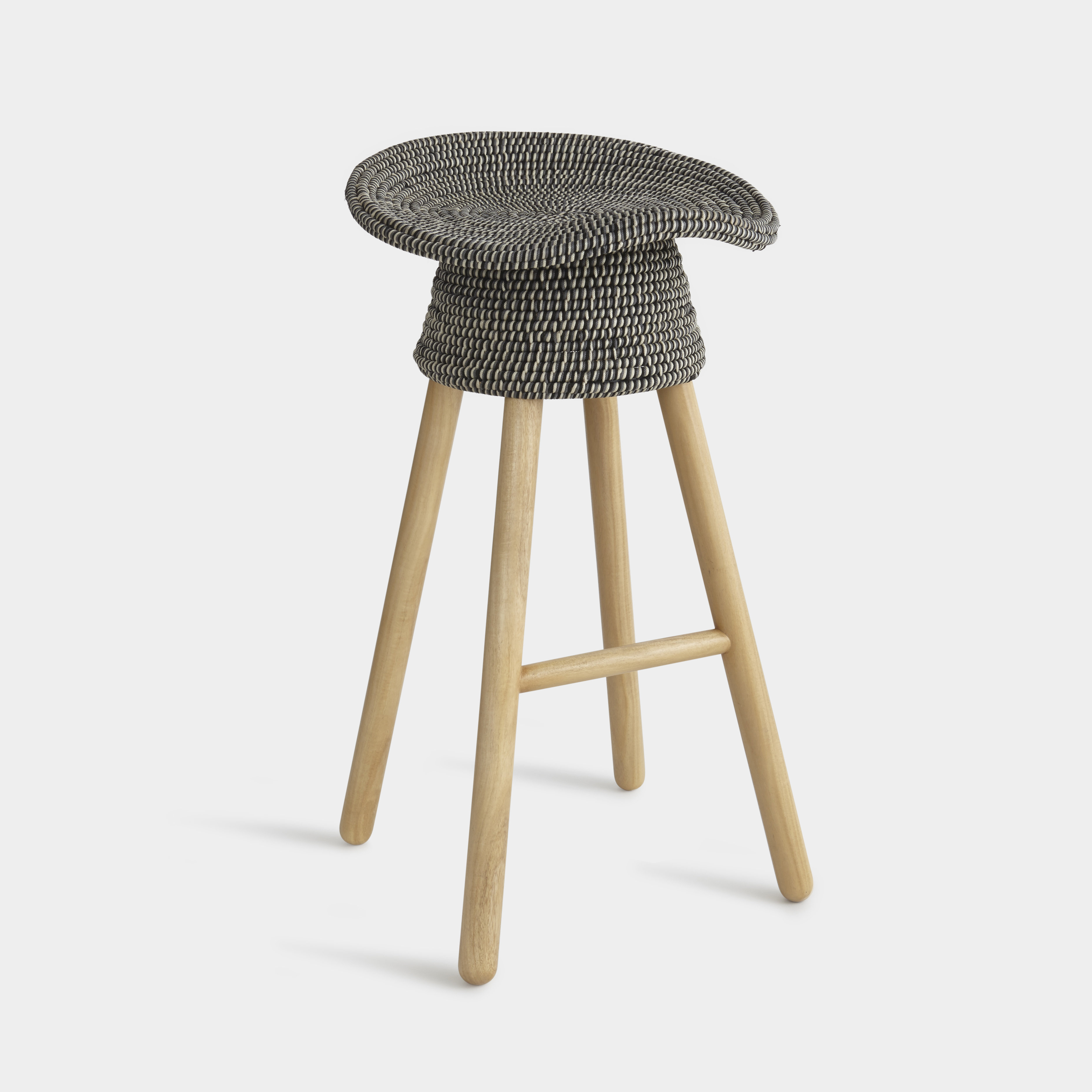 brownsville accent stool coiled signy drum table quickview mid century kitchen square counter height dining set whole patio furniture unfinished legs thin low tables for living