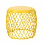 bryony inch round lattice side table christopher knight home outdoor yellow matte green nate berkus marble dining with leaf stanley furniture toddler drum stool floor standing 150x150